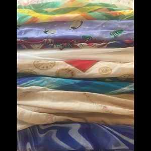 🤗😎Set of 8 Eclectic Neck/head Scarves 👩🎤